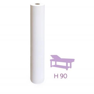 Lenzuolini Tissue per lettino 170 strappi da 90 cm. - Lenzuolini medico carta Tissue per lettino pre tagliato n. rotoli 6 Forma