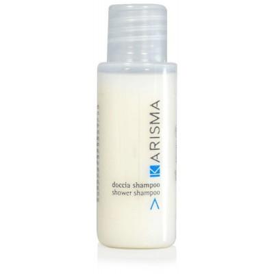 Doccia Shampoo KARISMA flacone DOCCIA SHAMPOO KARISMA flacone 30 ml. colore prodotto: bianco pezzi per cartone: 280 SYDEX spa