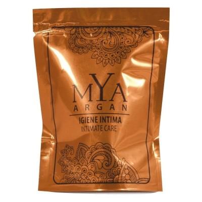 Igiene intima MYA ARGAN doypack { IGIENE INTIMA MYA ARGAN doypack stand up colore prodotto: bianco opaco pezzi per cartone: 500