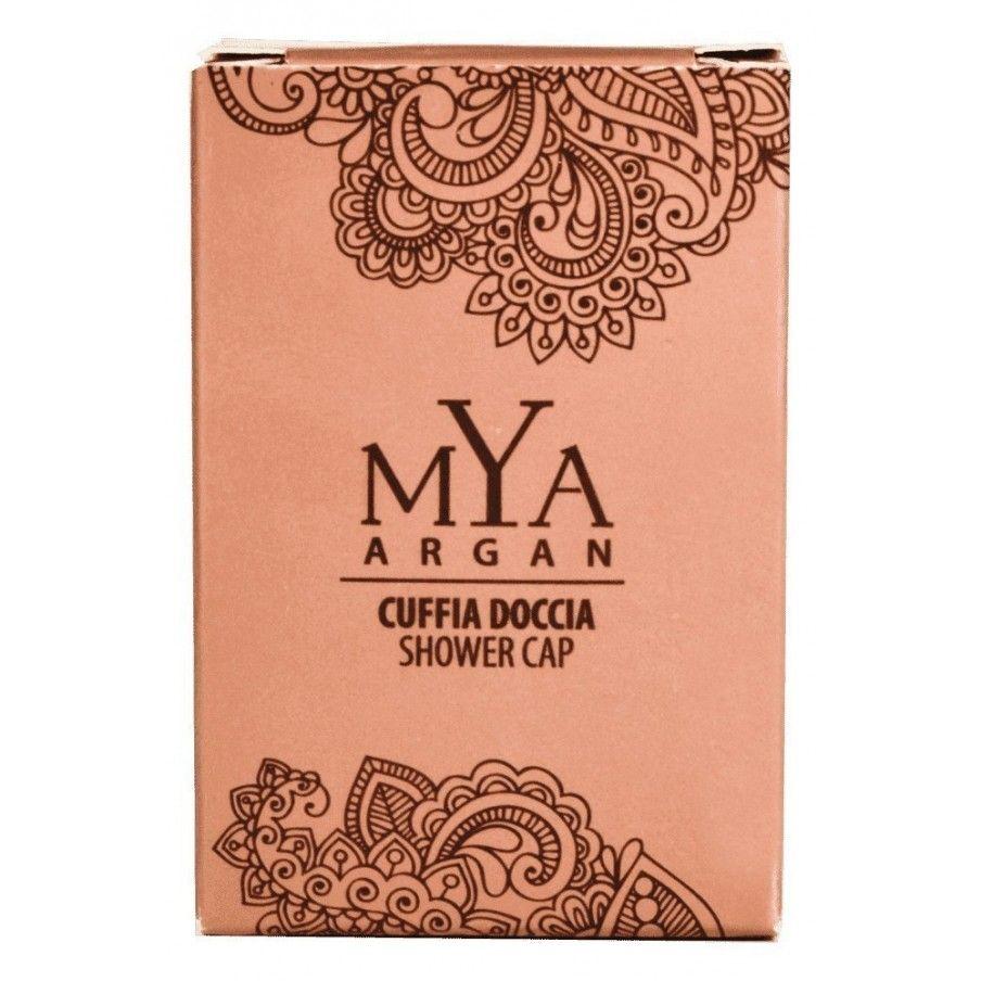 Cuffia doccia MYA ARGAN astuccio - CUFFIA DOCCIA MYA ARGAN astuccio pezzi per cartone: 500