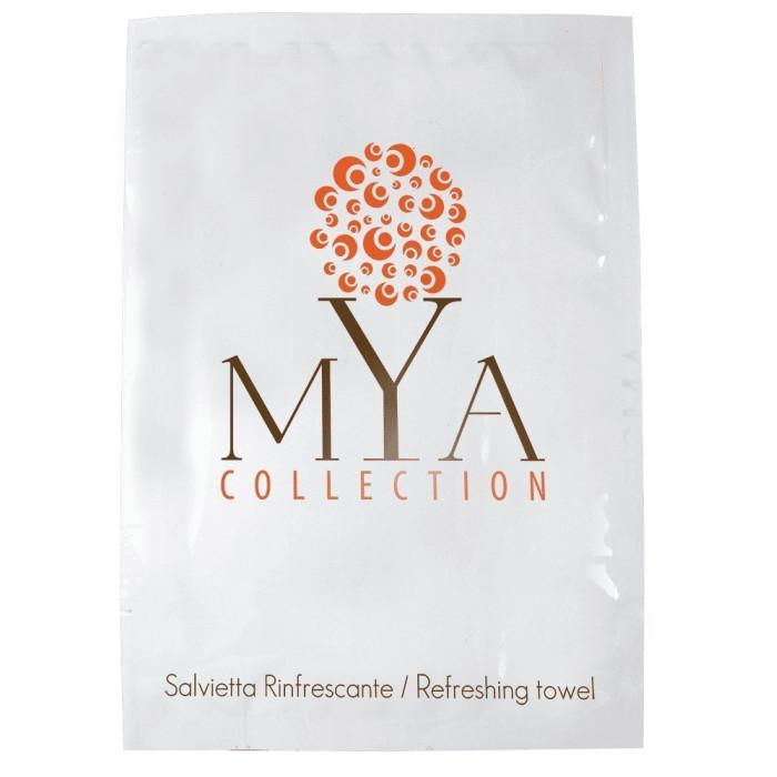 Salvietta rinfrescante MYA Collection SALVIETTA RINFRESCANTE MYA COLLECTION bustina 70x100 essenza aloe vera pezzi per cartone: